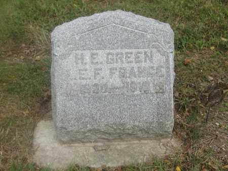 GREEN, H.E. - Union County, Ohio   H.E. GREEN - Ohio Gravestone Photos
