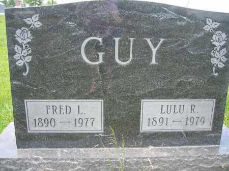 GUY, LULU R. - Union County, Ohio | LULU R. GUY - Ohio Gravestone Photos