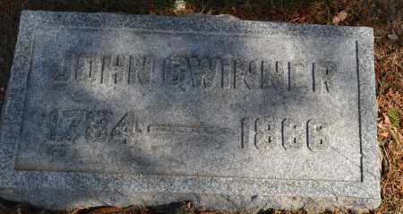 GWINNER, JOHN - Union County, Ohio | JOHN GWINNER - Ohio Gravestone Photos