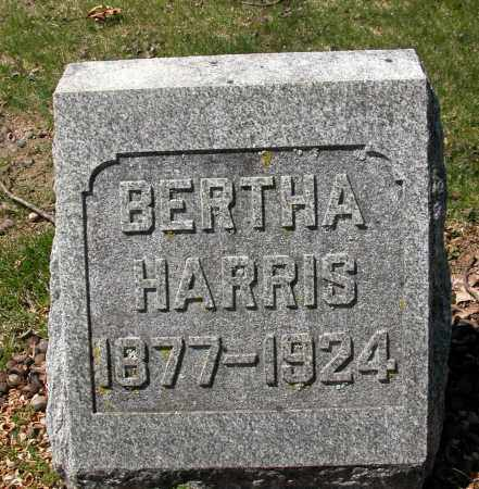 HARRIS, BERTHA - Union County, Ohio | BERTHA HARRIS - Ohio Gravestone Photos