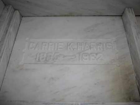 HARRIS, CARRIE K. - Union County, Ohio   CARRIE K. HARRIS - Ohio Gravestone Photos