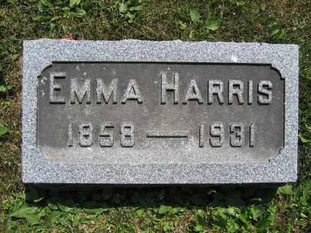 HARRIS, EMMA - Union County, Ohio | EMMA HARRIS - Ohio Gravestone Photos