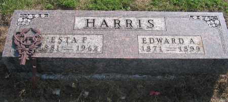 HARRIS, EDWARD A. - Union County, Ohio | EDWARD A. HARRIS - Ohio Gravestone Photos