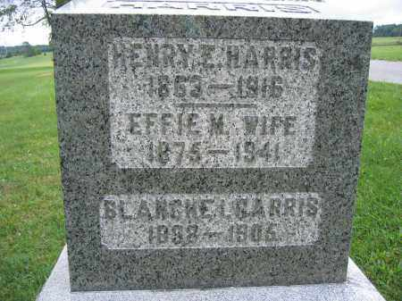 HARRIS, HENRY E. - Union County, Ohio | HENRY E. HARRIS - Ohio Gravestone Photos