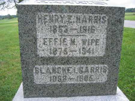 HARRIS, BLANCHE L. - Union County, Ohio | BLANCHE L. HARRIS - Ohio Gravestone Photos