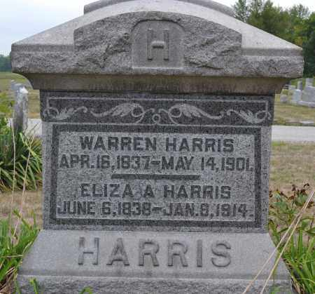 HARRIS, WARREN - Union County, Ohio | WARREN HARRIS - Ohio Gravestone Photos