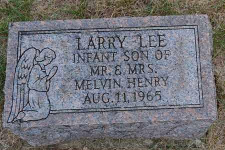 HENRY, LARRY LEE - Union County, Ohio | LARRY LEE HENRY - Ohio Gravestone Photos