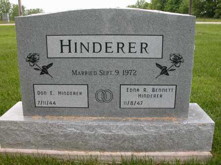 HINDERER, EDNA R. - Union County, Ohio | EDNA R. HINDERER - Ohio Gravestone Photos