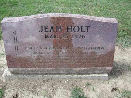 HOLT, JEAN - Union County, Ohio   JEAN HOLT - Ohio Gravestone Photos