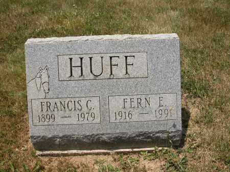 HUFF, FRANCIS C. - Union County, Ohio | FRANCIS C. HUFF - Ohio Gravestone Photos