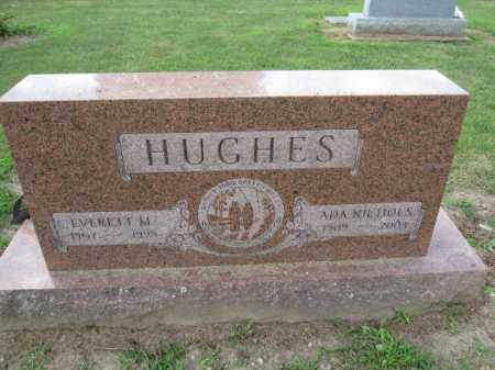 HUGHES, EVERETT M. - Union County, Ohio | EVERETT M. HUGHES - Ohio Gravestone Photos