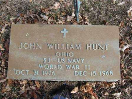 HUNT, JOHN WM. - Union County, Ohio   JOHN WM. HUNT - Ohio Gravestone Photos