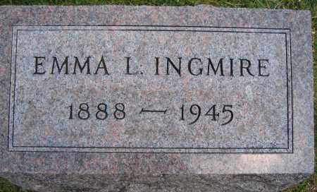 INGMIRE, EMMA L. - Union County, Ohio | EMMA L. INGMIRE - Ohio Gravestone Photos