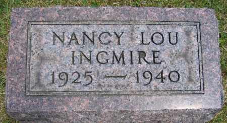 INGMIRE, NANCY LOU - Union County, Ohio | NANCY LOU INGMIRE - Ohio Gravestone Photos