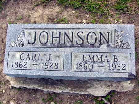 HAWLEY JOHNSON, EMMA - Union County, Ohio   EMMA HAWLEY JOHNSON - Ohio Gravestone Photos