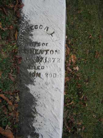 KENTON, REBECCA L. - Union County, Ohio   REBECCA L. KENTON - Ohio Gravestone Photos
