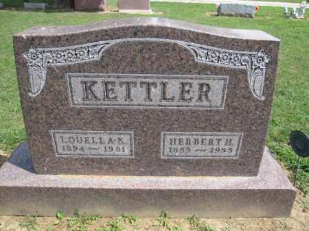 KETTLER, HERBERT H. - Union County, Ohio | HERBERT H. KETTLER - Ohio Gravestone Photos