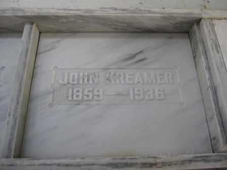 KREAMER, JOHN - Union County, Ohio | JOHN KREAMER - Ohio Gravestone Photos