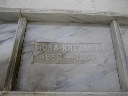 KREAMER, ROSA - Union County, Ohio | ROSA KREAMER - Ohio Gravestone Photos