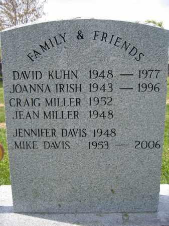 DAVIS, JENNIFER - Union County, Ohio | JENNIFER DAVIS - Ohio Gravestone Photos