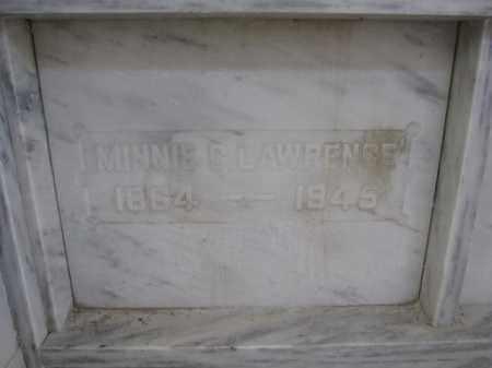 LAWRENCE, MINNIE C. - Union County, Ohio | MINNIE C. LAWRENCE - Ohio Gravestone Photos