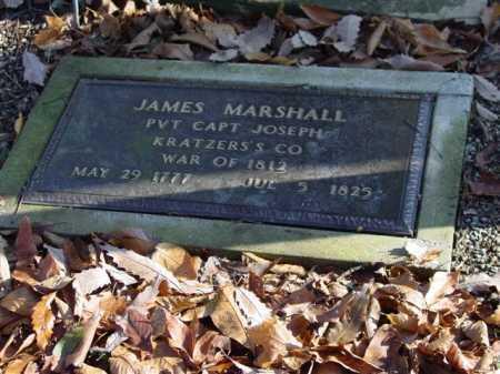 MARSHALL, JAMES - Union County, Ohio | JAMES MARSHALL - Ohio Gravestone Photos