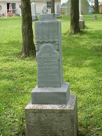 MCADAMS, JOSIAH - Union County, Ohio | JOSIAH MCADAMS - Ohio Gravestone Photos