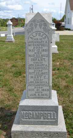 MCCAMPBELL, ALFRED - Union County, Ohio | ALFRED MCCAMPBELL - Ohio Gravestone Photos