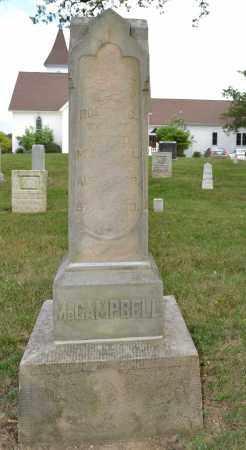 MCCAMPBELL, MARY ELLEN - Union County, Ohio | MARY ELLEN MCCAMPBELL - Ohio Gravestone Photos