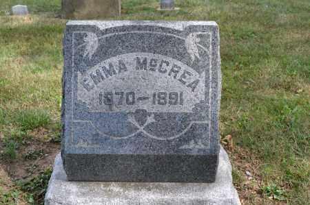 MCCREA, EMMA - Union County, Ohio   EMMA MCCREA - Ohio Gravestone Photos