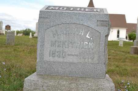 MCKITRICK, MARIAH L. - Union County, Ohio | MARIAH L. MCKITRICK - Ohio Gravestone Photos