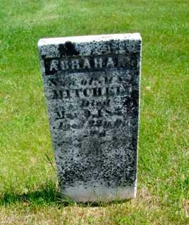MITCHELL, ABRAHAM - Union County, Ohio | ABRAHAM MITCHELL - Ohio Gravestone Photos