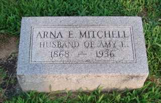 MITCHELL, ARNA E. 'ARNIE' - Union County, Ohio | ARNA E. 'ARNIE' MITCHELL - Ohio Gravestone Photos