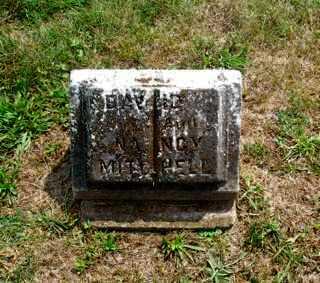 MITCHELL, DAVID 'PACKING HOUSE' - Union County, Ohio | DAVID 'PACKING HOUSE' MITCHELL - Ohio Gravestone Photos