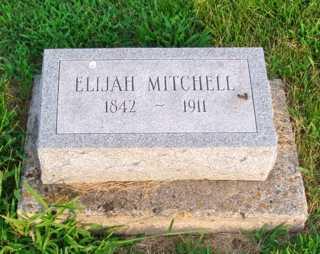MITCHELL, ELIJAH - Union County, Ohio | ELIJAH MITCHELL - Ohio Gravestone Photos