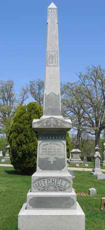 MITCHELL, ISABELLA - Union County, Ohio | ISABELLA MITCHELL - Ohio Gravestone Photos