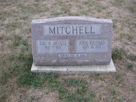 MITCHELL, JOHN RICHARD - Union County, Ohio | JOHN RICHARD MITCHELL - Ohio Gravestone Photos
