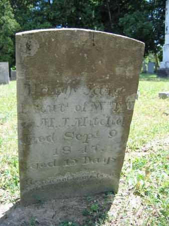 MITCHELL, MARY JANE - Union County, Ohio   MARY JANE MITCHELL - Ohio Gravestone Photos