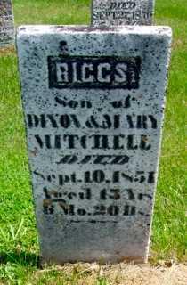 MITCHELL, RIGGS - Union County, Ohio   RIGGS MITCHELL - Ohio Gravestone Photos