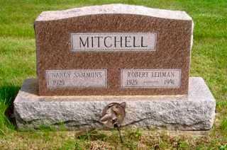 MITCHELL, NANCY  SAMMONS - Union County, Ohio | NANCY  SAMMONS MITCHELL - Ohio Gravestone Photos