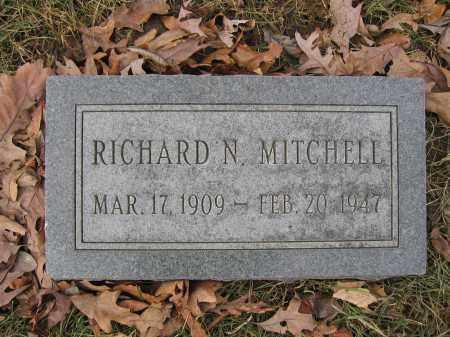 MITCHELL, RICHARD N. - Union County, Ohio   RICHARD N. MITCHELL - Ohio Gravestone Photos