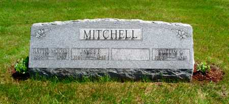 MITCHELL, JAMES FRANK 'J. F.' - Union County, Ohio | JAMES FRANK 'J. F.' MITCHELL - Ohio Gravestone Photos