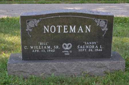 NOTEMAN, C. WILLIAM - Union County, Ohio | C. WILLIAM NOTEMAN - Ohio Gravestone Photos