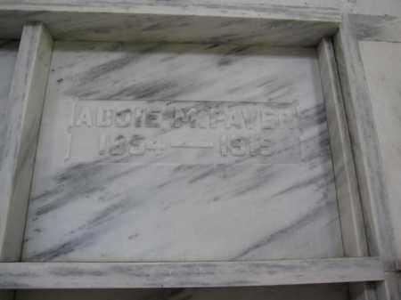 PAVER, ADDIE M. - Union County, Ohio | ADDIE M. PAVER - Ohio Gravestone Photos