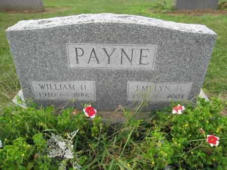 PAYNE, EMELYN H. - Union County, Ohio | EMELYN H. PAYNE - Ohio Gravestone Photos