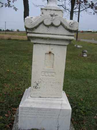 PIERSON, ELLA - Union County, Ohio | ELLA PIERSON - Ohio Gravestone Photos
