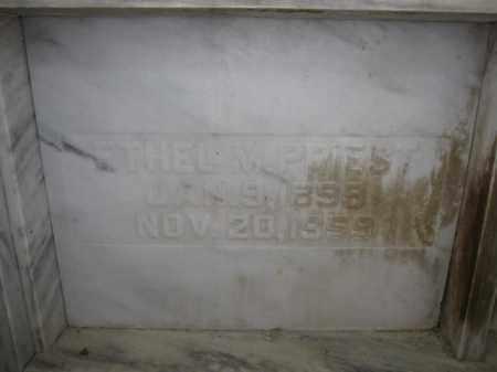 PRIEST, ETHEL M. - Union County, Ohio | ETHEL M. PRIEST - Ohio Gravestone Photos