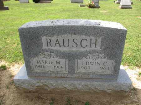 RAUSCH, MARIE M. - Union County, Ohio | MARIE M. RAUSCH - Ohio Gravestone Photos