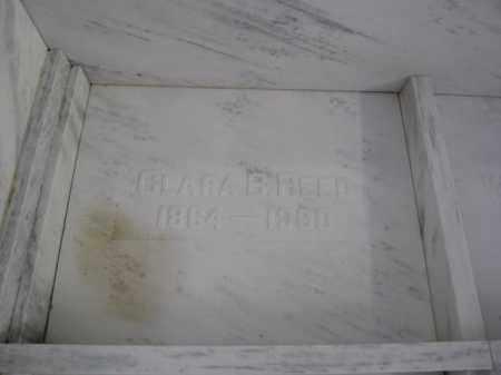 REED, CLARA B. - Union County, Ohio | CLARA B. REED - Ohio Gravestone Photos
