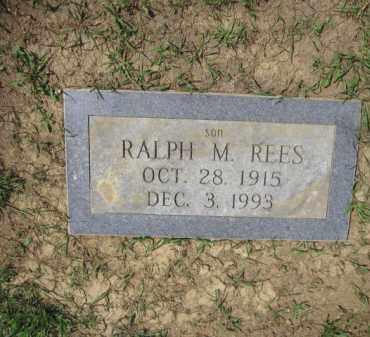 REES, RALPH M. - Union County, Ohio | RALPH M. REES - Ohio Gravestone Photos